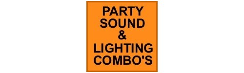 PARTY SOUND & LIGHTING COMBO'S