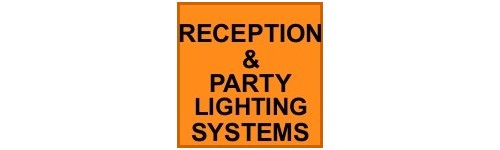 RECEPTION & PARTY LIGHTING HIRE