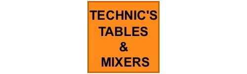 TECHNIC'S TURNTABLES AND DJ MIXERS