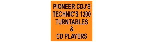 CDJ1000/CD PLAYERS & TURNTABLES
