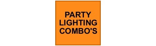 PARTY LIGHTING COMBO'S