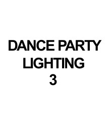 DANCE PARTY LIGHTING 3