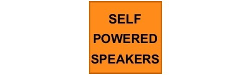 SELF POWERED SPEAKER SYSTEMS
