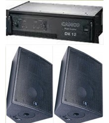 "Quest Single 8"" Speakers & amp"