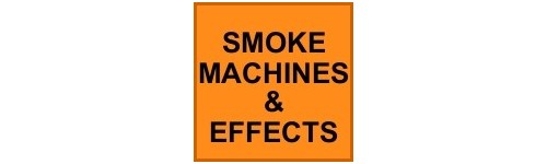 SMOKE MACHINES & SPECIAL EFFECTS