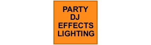 PARTY, DJ EFFECT LIGHTING