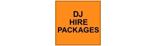DJ HIRE PACKAGES
