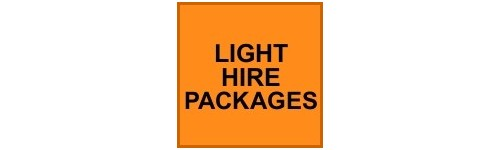 LIGHT HIRE PACKAGES