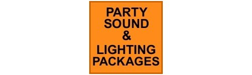 PARTY SOUND & LIGHTING PACKAGES