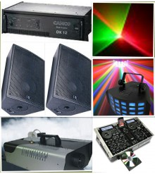 Party Sound and Lighting combo 1