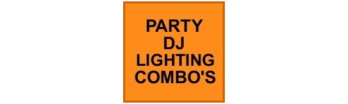 PARTY, DJ LIGHTING COMBO'S