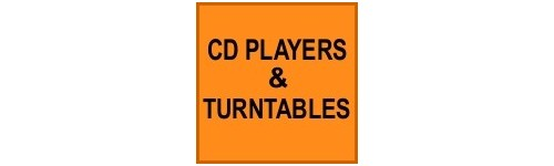 CD PLAYERS & TURNTABLES