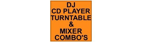 CD PLAYERS & MIXERS