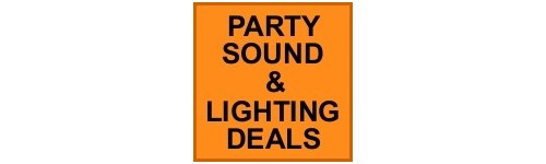 PARTY SOUND & LIGHTING DEALS